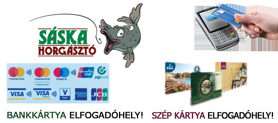 62fab3b39a08 Bankkártya és SZÉP kártya elfogadóhely - Sáska horgásztó - Fogjon ...